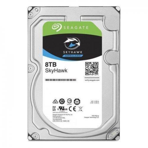 """SEAGATE SKYHAWK 3,5"""" 8TB 256Mb ST8000VX004, 7200Rpm, Güvenlik HDD"""