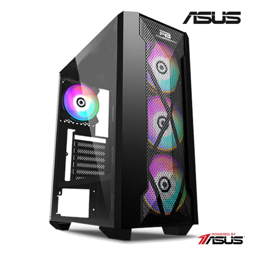 TALOS AMD Ryzen 5 3500X, 16Gb Ram, 512Gb SSD, 8Gb DDR5 RX580 Ekran Kartı, 500W Power, Free Dos GAMING PC