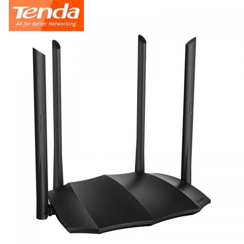Tenda AC8 AC1200 4Port WiFi 2,4Ghz 5Ghz Dual, 4 x 6dBi Anten, Router