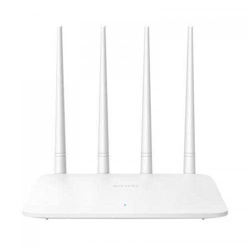 Tenda F6 4Port WiFi 300Mbps 4x5DBi Anten 2,4Ghz, Router Access Point
