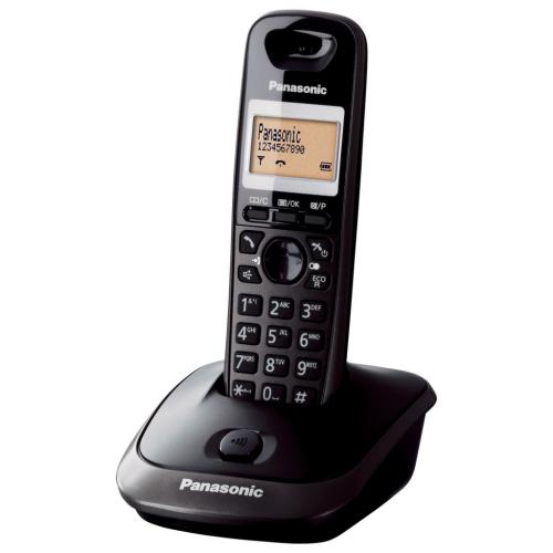 PANASONIC KX-TG2511 TELSİZ TELEFON (Siyah) 18 Saat Konuşma, 170 Saat Bekleme, 50 Kişilik Rehber