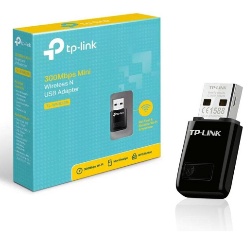 TP-LINK TL-WN823N 300Mbp Mini USB Wireless N Eth.