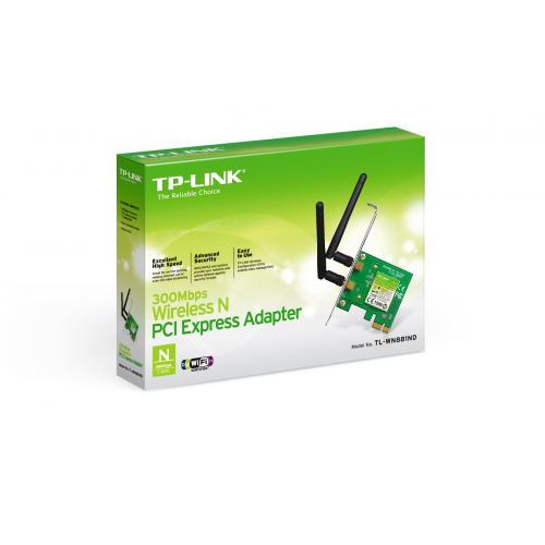 TP-LINK TL-WN881ND 300Mbp PCI-EX 1X Wif Eth.2anten
