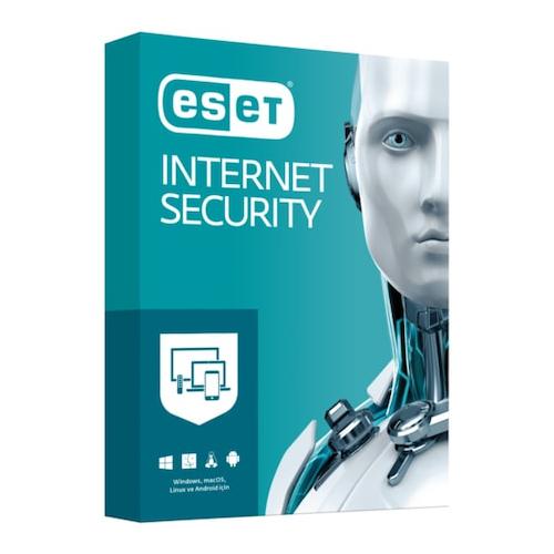 ESET INTERNET SECURITY 3 Kullanıcı , 1 YIL