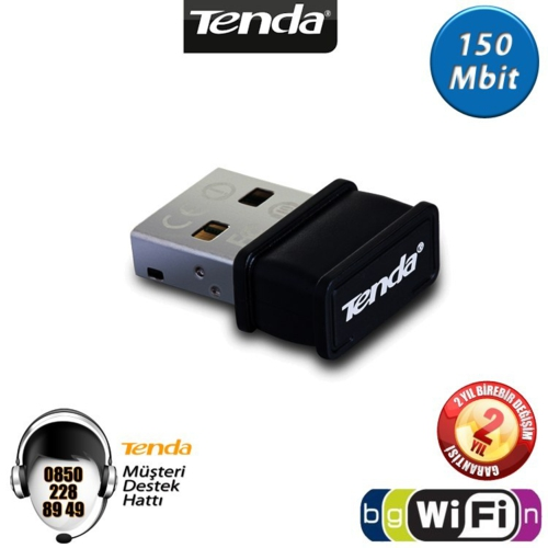 Tenda W311MI WiFi-N 150Mbps Mini USB Adaptör