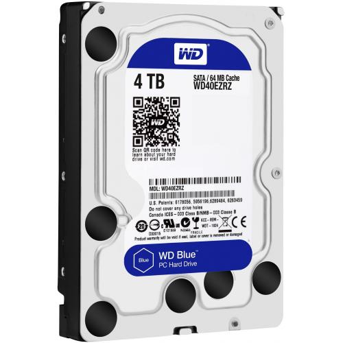 """WD Blue WD40EZRZ 3,5"""" 4Tb, 64MB, 5400Rpm, Desktop HDD"""