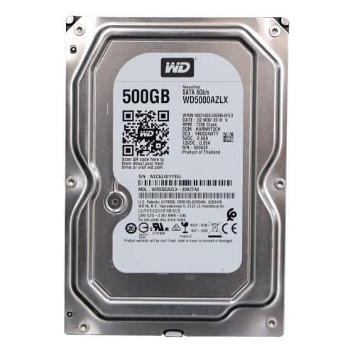 """WD WD5000AZLX 3,5"""" 500Gb, 32MB, 7200Rpm, Desktop HDD (Recertified)"""