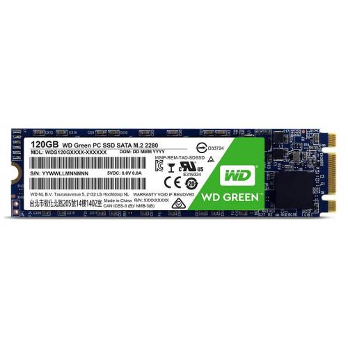 WD Green WDS120G2G0B 120GB 545MB/S SATA M.2 SSD