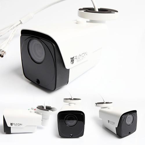 RAYDIN ZOOM-T20 2Mpix, 2,8-12mm Motorized Lens, H265, 40adet Led, 60Mt Gece Görüşü, SD Kart, PoE, Dış Mekan Büyük IP Kamera